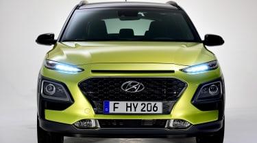 Hyundai Kona studio - full front