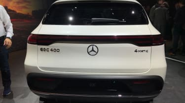 Mercedes EQC rear end