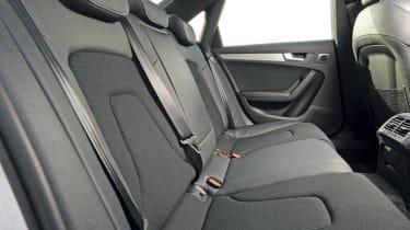 Audi A4 2.0 TDI S line rear seats