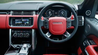 Range Rover SVAutobiography Dynamic 2017 - interior
