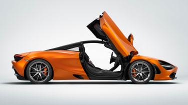 McLaren 720S - side door open