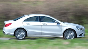 Mercedes CLA 180 profile