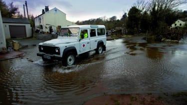 UK Floods: Red Cross Rescue