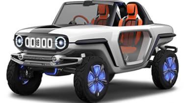 Suzuki e-Survivor - front