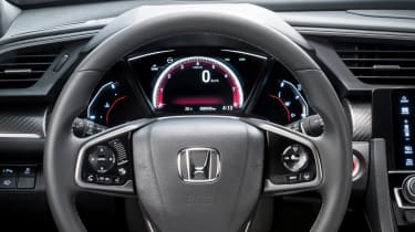 Honda Civic: The Smarter Choice (sponsored) steering