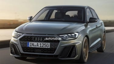 Audi A1 - leak grey tracking