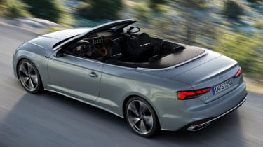 2019 Audi A5 Cabriolet - rear tracking