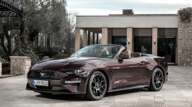 Ford Mustang EcoBoost Convertible - front static