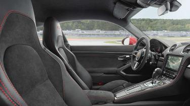 Porsche Cayman GTS - front seats