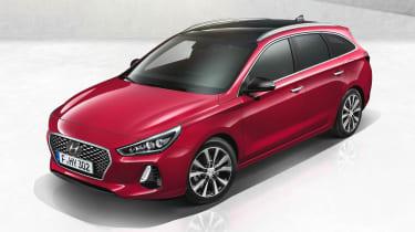 Hyundai i30 Tourer - above