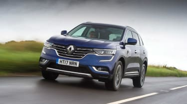 Renault Koleos - front tracking