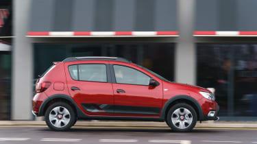 Dacia Sandero Stepway Techroad - side
