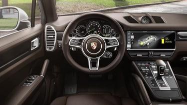 Porsche Cayenne E-Hybrid - interior