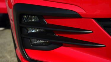 Volkswagen Golf GTI 2017 facelift red - canards