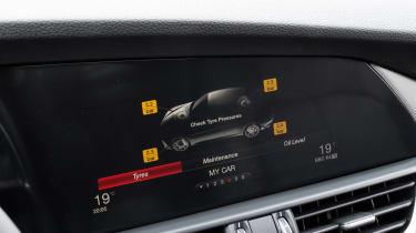 Alfa Romeo Giulia - tyre pressures