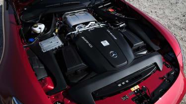 Mercedes-AMG GT S - engine