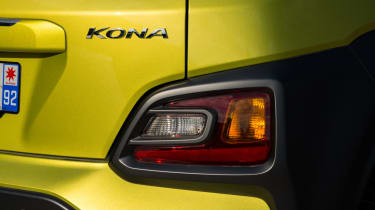 Hyundai Kona Premium SE 2017 - rear lower light cluster