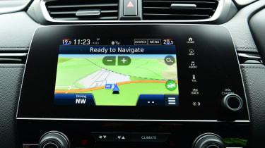 Honda CR-V - sat-nav