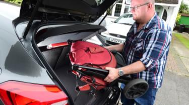 Long term review: Ford Focus Titanium X - boot