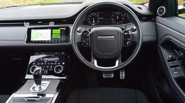 Range Rover Evoque - dash