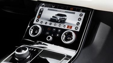 Range Rover Velar - touchscreen