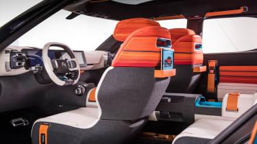 Citroen Aircross concept - seat backs