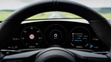 Porsche Taycan Turbo S - dials