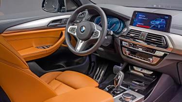 New BMW X3 - dash