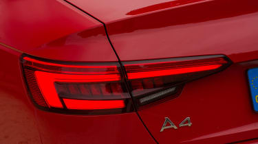 Audi A4 S Line - rear lights