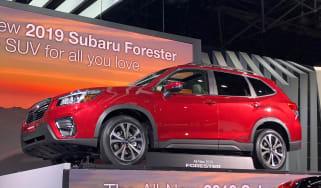 Subaru Forester 2018 show pics