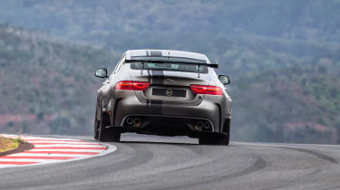 Jaguar XE SV Project 8 - rear action