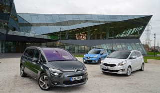 Citroen Grand C4 Picasso group test photo 1