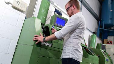 Alex Ingram does machining