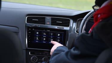 Volkswagen e-Golf long-term test - infotainment