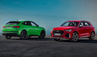 Audi RS Q3 - twin
