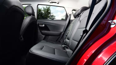 New Kia Niro Hybrid - rear seats