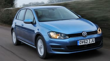 VW Golf 2.0 TDI SE front action