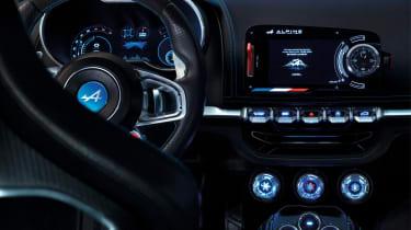 Renault Alpine Vision concept - interior