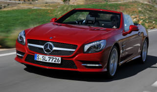 Mercedes SL front tracking