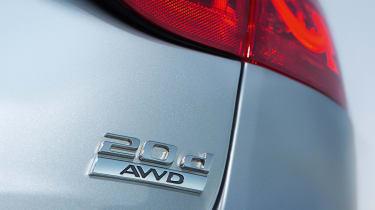 Jaguar XF AWD - badge detail