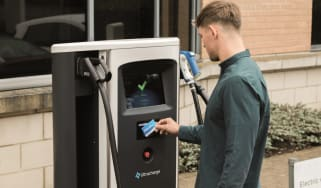 Electric car charging in the UK - Chargemaster Ultracharge rapid charger