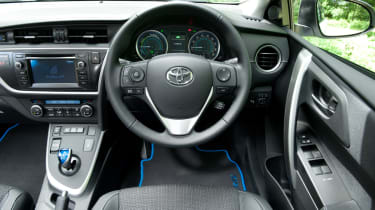 Toyota Auris Touring Sports interior