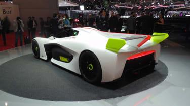 Pininfarina H2 Speed concept - Geneva show rear/side