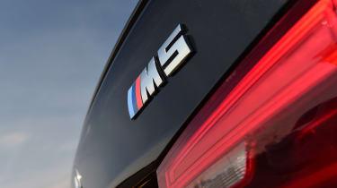 BMW M5 - rear badge
