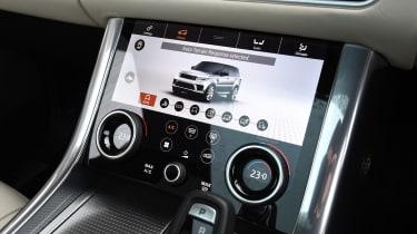 Range Rover Sport - Touchscreen