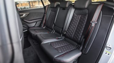 Audi RS Q8 - rear seats