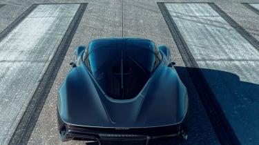 McLaren Speedtail - runway testing - rear static