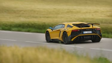 Lamborghini Aventador SV 2015 - rear
