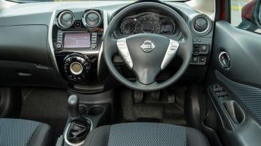 Nissan Note 2014 interior