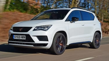 Cupra Ateca - front tracking